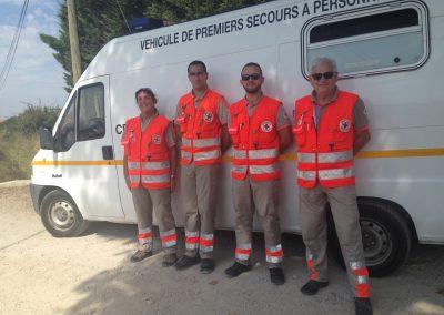 Équipe de secours Unité de Petite Camargue