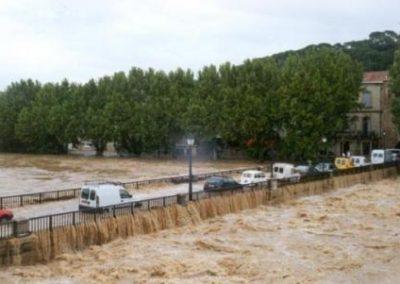 Le pont de Sommieres en 2002