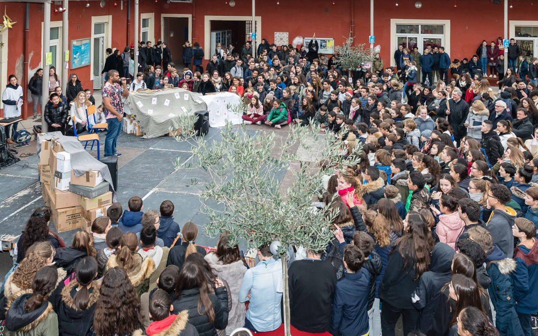 Solidarité : les élèves de Saint-Stanislas mobilisés pour les plus démunis