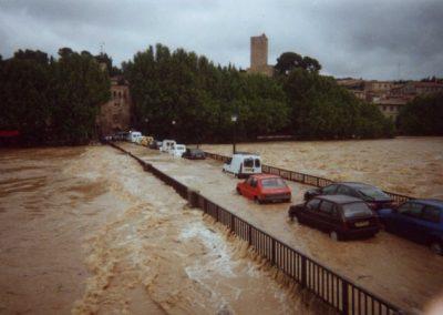 Le pont Tibère en 2002