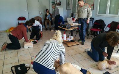Alès : formations aux premiers secours