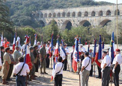 Les Portes drapeaux