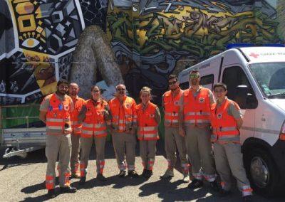 Bénévoles de l'unité locale de Bagnols-sur-cèze