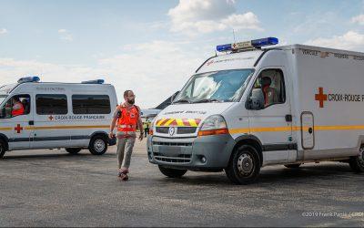 Nîmes – Retour sur le terrain pour les secouristes !