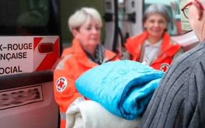DIX JOURS MILLE DUVETS : DECATHLON NÎMES soutient la Croix-Rouge dans le Gard.
