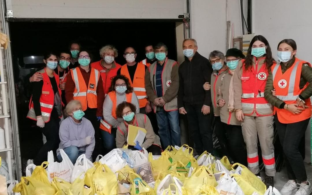 La Croix-Rouge française à vos côtés: Engagement auprès de la banque alimentaire